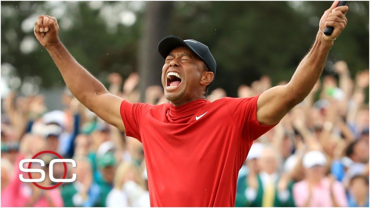 Tiger Woods wins The 2019 Masters | SportsCenter Screenshot Download