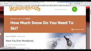 Wonderopolis org