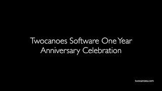 Twocanoes Software One Year Anniversary Celebration