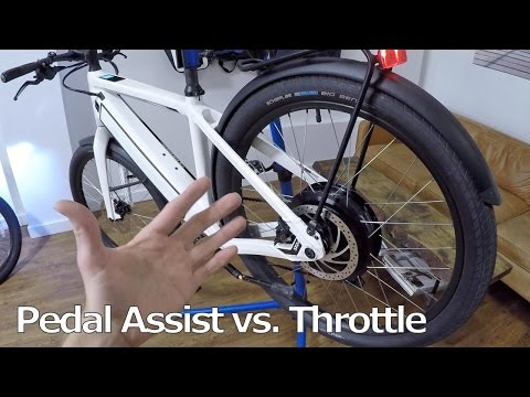 Pedal Assist vs. Throttle Activated Electric Bike