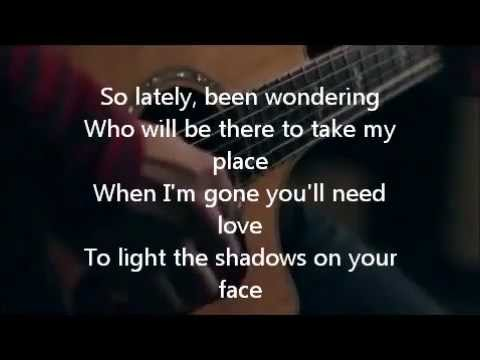 Wherever You Will Go Chords Lyrics The Calling