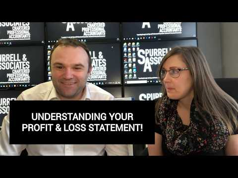 Understanding Your Profit & Loss Statement