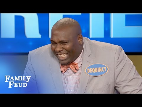 , title : 'HYSTERICAL CLIP! Steve Harvey KILLS on the Feud!  | Family Feud'
