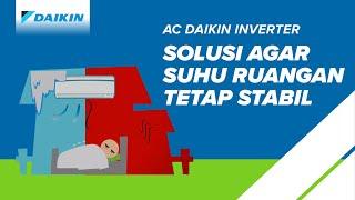 AC DAIKIN 1 PK INVERTER FTKQ25 & Pasang