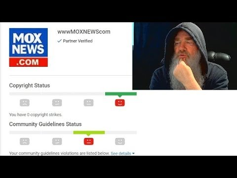 YOUTUBE GIVES MOX NEWS COMMUNITY GUIDELINES VIOLATION STRIKE FOR POSTING IMPEACHMENT HEARINGS!