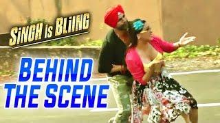 Singh Is Bliing | Behind The Scenes | Akshay Kumar & Lara Dutta | Funny Road Scene