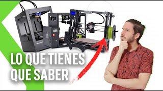 IMPRESORAS 3D: TODO lo que tienes que saber antes de comprar una
