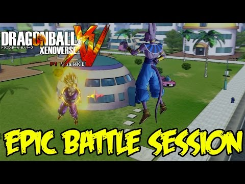 Dragon Ball Xenoverse Online: Beerus The Online Mode Destroyer! EPIC BATTLE SESSION