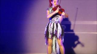 Lindsey Stirling Providence RI 2016 Summer Tour Makes cute mistake