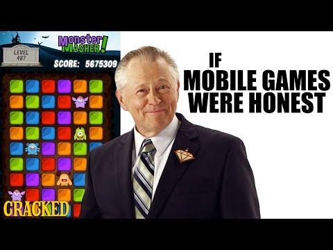 Kdyby byly reklamy na mobilní hry upřímné - Upřímné reklamy