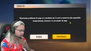 GARENA BANEA MI CUENTA VERIFICADA DE FREE FIRE 😭😱 - THE WICK
