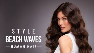 HOW-TO: Style human hair wigs for beach waves
