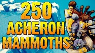 Runescape - Loot From 250 Acheron Mammoths