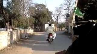 preview picture of video 'Jhelum - Karimpur Road to Kacheri Feb 2012'