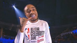 2019 NBA Celebrity All-Star Game Player Introductions With Quavo & Bad Bunny!