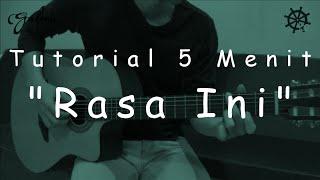 5 Menit Belajar Gitar (Rasa Ini - Viera)