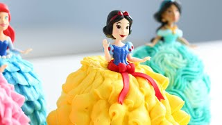 Mini PRINCESS Cakes! Cutest Cakes EVERRRR!