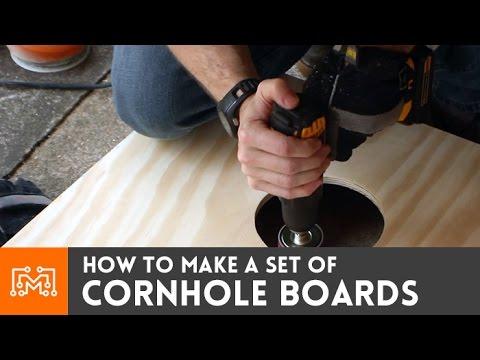 How to make cornhole boards | I Like To Make Stuff