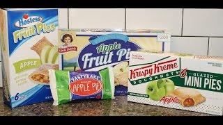 TastyKake Vs Hostess Vs Little Debbie Vs Krispy Kreme: Apple Pie Blind Taste Test