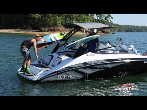 Wakeboarding with Yamaha (2017-) Video- By BoatTEST.com