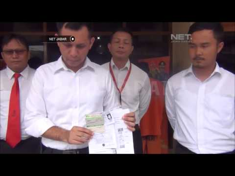 NET JABAR - 4 ORANG TERSANGKA PENIPUAN BPJS KETENAGAKERJAAN DITANGKAP POLISI