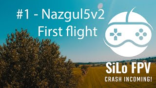#1 - First flight with Nazgul5v2 - GoPro Hero 4