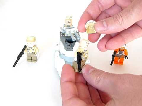 Vidéo LEGO Star Wars 8083 : Rebel Trooper Battle Pack