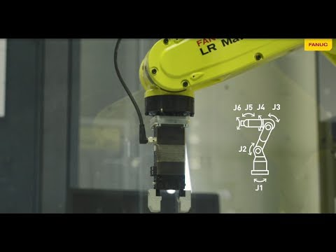Step by step jogging – learn to manually move a FANUC robot