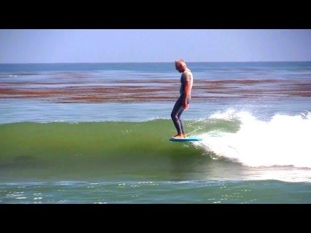 Surfing Santa Cruz --  Noseriding Clinic