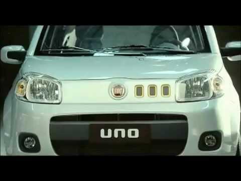 Novo Fiat Uno 2011: Comercial de lançamento no Brasil