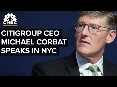 LIVE: Citigroup CEO Michael Corbat speaks at the Economic Club of New York - Nov. 14, 2018