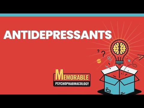 Psychofarmakologia 3: leki przeciwdepresyjne