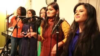 Badal Pe Paon Hai Uppsala Indian Choir cover - YouTube