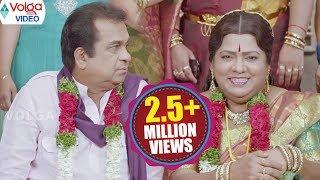 Brahmanandam Funny Marriage Scene || Brahmanandam, Telangana Sakunthala || Volga Videos