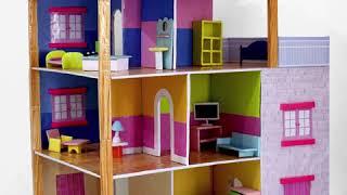 DIY Miniature DollHouse With Cardboard ! DIY Projects