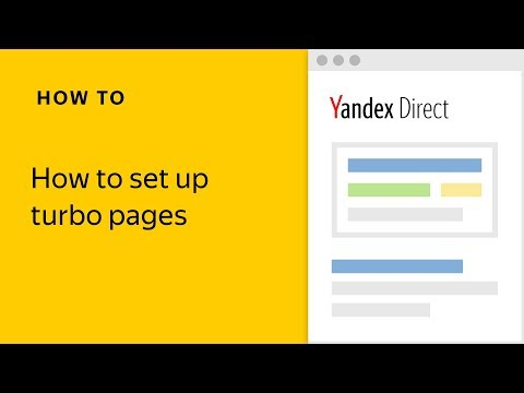 How to set up turbo pages
