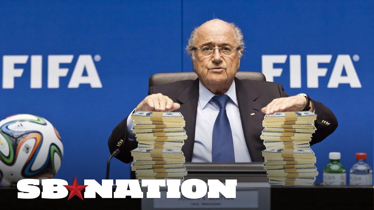 Sepp Blatter won't come to America, except for maybe a bribe thumbnail