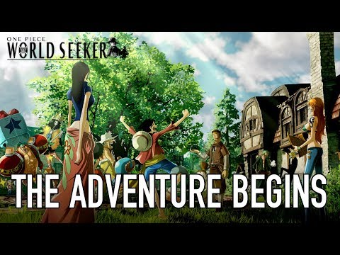 L'aventure commence (behind the scenes) de One Piece : World Seeker