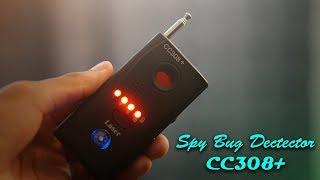 Spy Bug Detector CC308+ Review