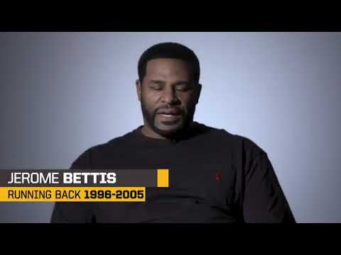 Pittsburgh Steelers great Jerome Bettis interview
