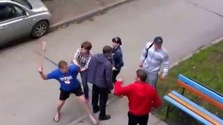 уличные драки жесть 2017