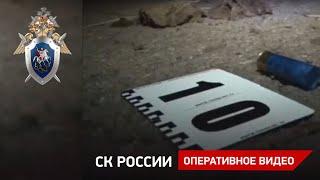 Следственные действия на месте убийства в Ростовской области