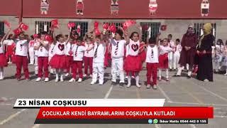 Çocuklar kendi bayramlarını coşkuyla kutladı