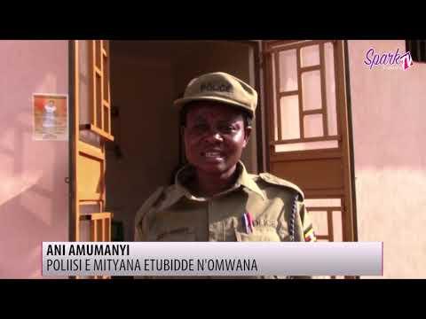 Poliisi e Mityana etubidde n'omwana eyalondebwa sabbiiti bbiri emabega.