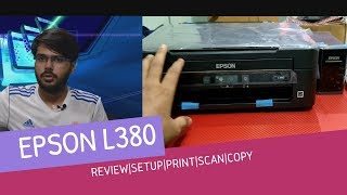 EPSON L380 HOME  ALL-IN-ONE  PRINTER REVIEW AND COMPARISON |PRINT, COPY, SCAN|TECH INFO # 48