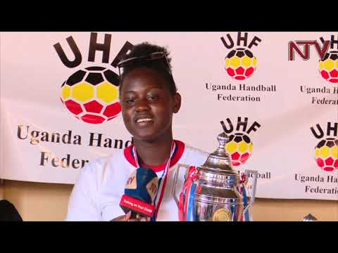 Uganda's victorious age grade handball teams feted