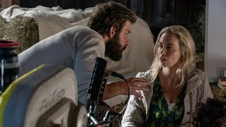 Behind The Scenes on A QUIET PLACE - Movie B-Roll, Bloopers & Clips - Video Youtube