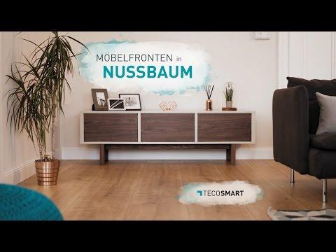 TECOSMART - Möbel bekleben in Nussbaum Optik