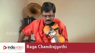 Raga Series - Raga Chandrajyothi on Violin by Jayadevan