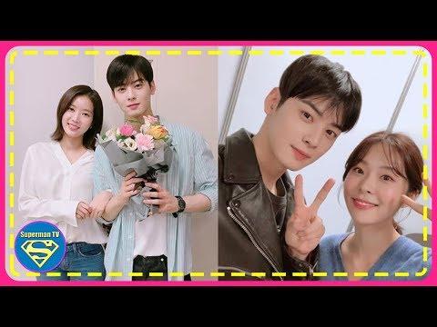 Jo woori jealous over Cha eunwoo and im soo hyang - смотреть